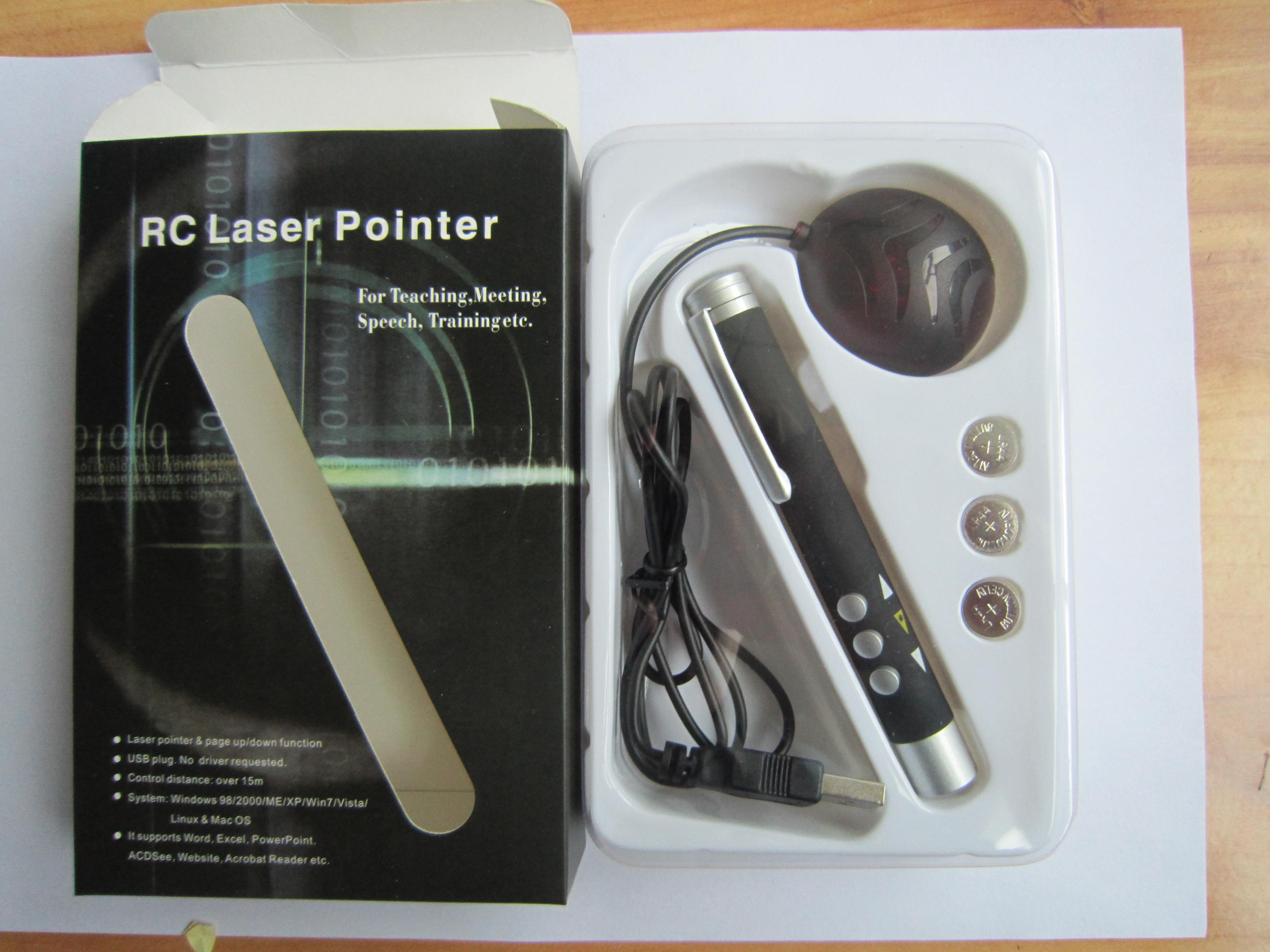 HDW-RS001 Wireless presenter with laser pointer